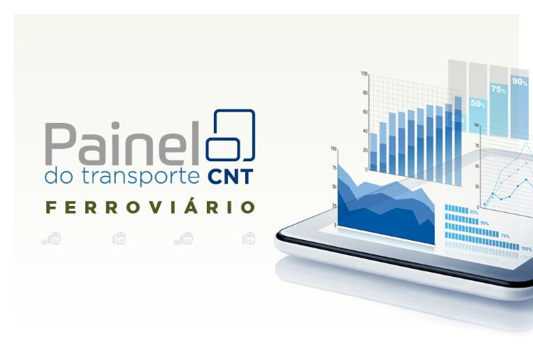 CNT lança ferramenta interativa para consulta de dados sobre o transporte  ferroviário de cargas