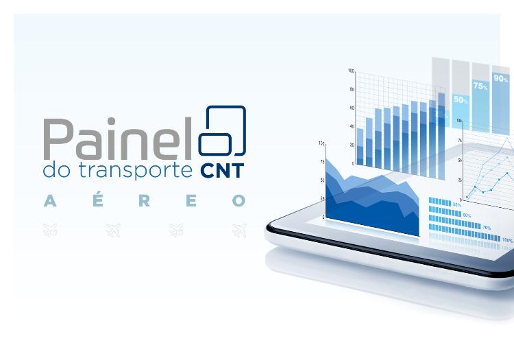 CNT lança nova ferramenta interativa para consulta de dados sobre transporte aéreo de cargas e passageiros